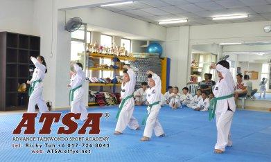 Batu Pahat Sports Ricky Toh Advance Taekwondo Sport Academy ATSA Education Martial Art Self Defence Fitness Poomdae Sparring Kyorugi Batu Pahat Johor Malaysia A02-07