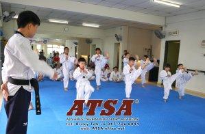 Batu Pahat Sports Ricky Toh Advance Taekwondo Sport Academy ATSA Education Martial Art Self Defence Fitness Poomdae Sparring Kyorugi Batu Pahat Johor Malaysia A02-13