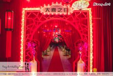 Kiong Art Wedding Event Kuala Lumpur Malaysia Event and Wedding Decoration Company One-stop Wedding Planning Services Wedding Theme Oriental Theme Restaurant LTP Sdn Bhd A04-A23