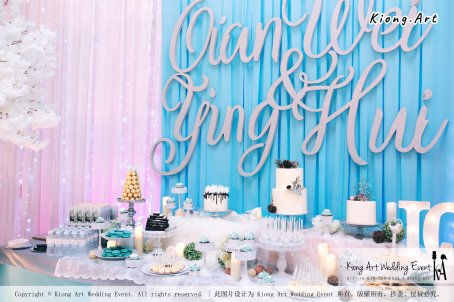 Kiong Art Wedding Event Kuala Lumpur Malaysia Wedding Decoration One-stop Wedding Planning Wedding Theme Fantasy Castle In The Snow Grand Sea View Restaurant A06-A01-02