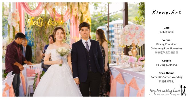 Kiong Art Wedding Event Kuala Lumpur Malaysia Wedding Decoration One-stop Wedding Planning Wedding Theme Romantic Garden Wedding Kluang Container Swimming Pool Homestay A05-A00-08