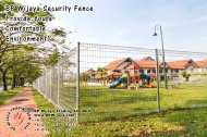 BP Wijaya Trading Sdn Bhd Malaysia Pahang Kuantan Temerloh Mentakab Manufacturer of Safety Fences Building Materials for Housing Construction Site Industial Security Fencing Factory A01-25