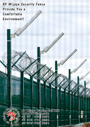 BP Wijaya Trading Sdn Bhd Malaysia Pahang Kuantan Temerloh Mentakab Manufacturer of Safety Fences Building Materials for Housing Construction Site Industial Security Fencing Factory A01-33