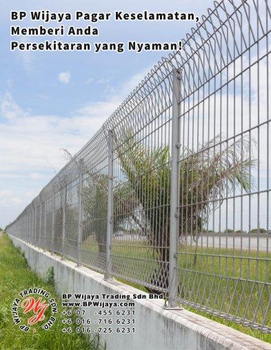 BP Wijaya Trading Sdn Bhd Malaysia Pahang Kuantan Temerloh Mentakab Pengeluar Pagar Keselamatan Pagar Taman Bangunan dan Kilang dan Rumah untuk Bandar Pemborong Pagar A01-10