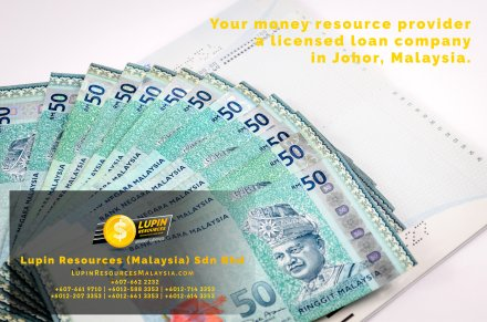 Johor Licensed Loan Company Licensed Money Lender Lupin Resources Malaysia SDN BHD Your money resource provider Kulai Johor Bahru Johor Malaysia Business Loan A01-13
