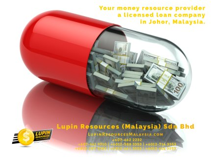 Johor Licensed Loan Company Licensed Money Lender Lupin Resources Malaysia SDN BHD Your money resource provider Kulai Johor Bahru Johor Malaysia Business Loan A01-19