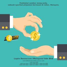 Johor Syarikat Pinjaman Berlesen Lupin Resources Malaysia SDN BHD Pembekal Sumber Wang Anda Kulai Johor Bahru Johor Malaysia Pinjaman Perniagaan Pinjaman Peribadi A01-62