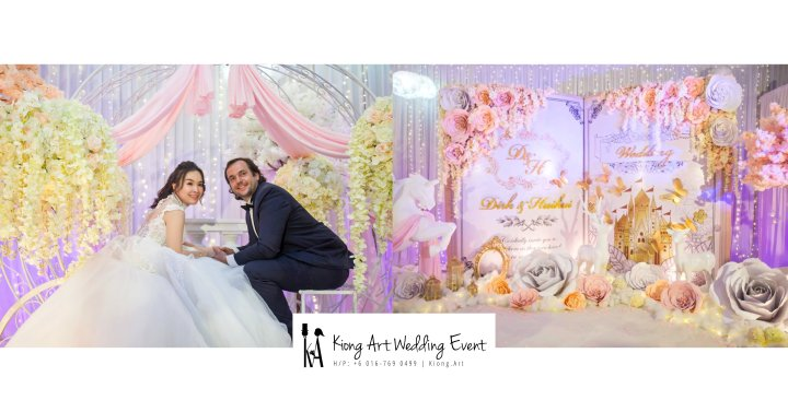 Kiong Art Wedding Event Kuala Lumpur Malaysia Wedding Decoration One-stop Wedding Planning Legend of Fairy Tales Grand Sea View Restaurant 海景宴宾楼 A08-A00-00