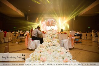 Kiong Art Wedding Event Kuala Lumpur Malaysia Wedding Decoration One-stop Wedding Planning Legend of Fairy Tales Grand Sea View Restaurant 海景宴宾楼 A08-A01-12