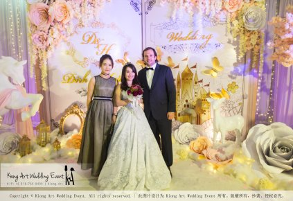 Kiong Art Wedding Event Kuala Lumpur Malaysia Wedding Decoration One-stop Wedding Planning Legend of Fairy Tales Grand Sea View Restaurant 海景宴宾楼 A08-A01-76