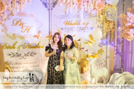 Kiong Art Wedding Event Kuala Lumpur Malaysia Wedding Decoration One-stop Wedding Planning Legend of Fairy Tales Grand Sea View Restaurant 海景宴宾楼 A08-A01-79