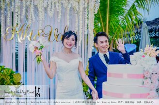 Kiong Art Wedding Event Kuala Lumpur Malaysia Wedding Decoration One-stop Wedding Planning Warm Outdoor Romantic Style Theme Kluang Container Swimming Pool Homestay A07-A01-14