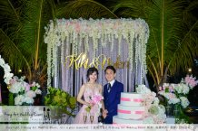 Kiong Art Wedding Event Kuala Lumpur Malaysia Wedding Decoration One-stop Wedding Planning Warm Outdoor Romantic Style Theme Kluang Container Swimming Pool Homestay A07-A01-28