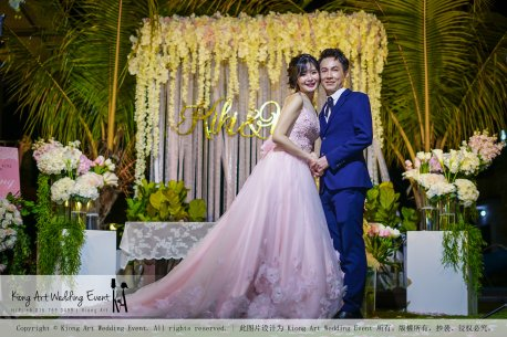 Kiong Art Wedding Event Kuala Lumpur Malaysia Wedding Decoration One-stop Wedding Planning Warm Outdoor Romantic Style Theme Kluang Container Swimming Pool Homestay A07-A01-36