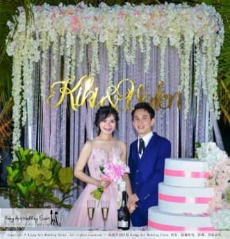 Kiong Art Wedding Event Kuala Lumpur Malaysia Wedding Decoration One-stop Wedding Planning Warm Outdoor Romantic Style Theme Kluang Container Swimming Pool Homestay A07-A01-42