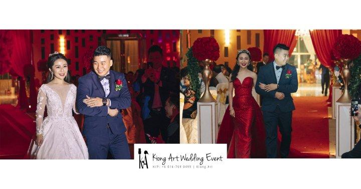 Kiong Art Wedding Event Kuala Lumpur Malaysia Wedding Decoration One-stop Wedding Planning Jing Ta and Dior Yaw 柔佛永平德教会礼堂 A09-A00-01