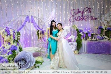 Kiong Art Wedding Event Kuala Lumpur Malaysia Wedding Decoration One-stop Wedding Planning Jing Ta and Dior Yaw 柔佛永平德教会礼堂 A09-B01-06