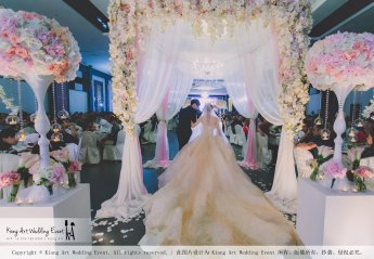 Malaysia Kuala Lumpur Wedding Event Kiong Art Wedding Deco Decoration One-stop Wedding Planning of Kent and Hann Wedding at Huang Cheng Banquet Muar A10-A01-50