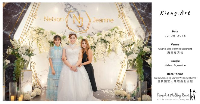 Malaysia Kuala Lumpur Wedding Event Kiong Art Wedding Deco Decoration One-stop Wedding Planning of Nelson and Jeanine Wedding 陈永馨 中国好声音 A11-A00-05
