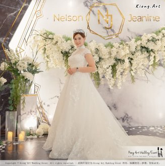 Malaysia Kuala Lumpur Wedding Event Kiong Art Wedding Deco Decoration One-stop Wedding Planning of Nelson and Jeanine Wedding 陈永馨 中国好声音 A11-A01-04