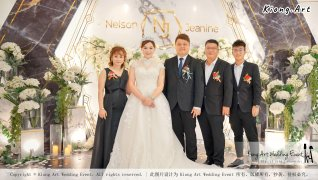 Malaysia Kuala Lumpur Wedding Event Kiong Art Wedding Deco Decoration One-stop Wedding Planning of Nelson and Jeanine Wedding 陈永馨 中国好声音 A11-A01-31