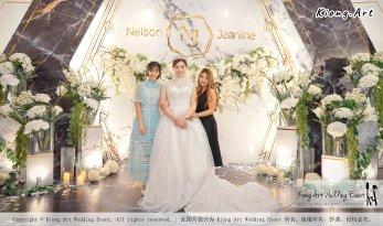 Malaysia Kuala Lumpur Wedding Event Kiong Art Wedding Deco Decoration One-stop Wedding Planning of Nelson and Jeanine Wedding 陈永馨 中国好声音 A11-A02-14