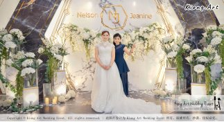 Malaysia Kuala Lumpur Wedding Event Kiong Art Wedding Deco Decoration One-stop Wedding Planning of Nelson and Jeanine Wedding 陈永馨 中国好声音 A11-A02-24