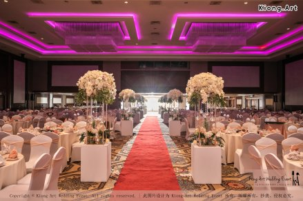 Malaysia Kuala Lumpur Wedding Decoration Kiong Art Wedding Deco One-stop Wedding Planning Selangor of Zhe and Ying Wedding at Hotel Equatorial Melaka A12-B01-06