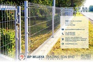 BP Wijaya Trading Sdn Bhd 马来西亚 雪州 雪兰莪 吉隆坡 安全篱笆制造商 住家围栏篱笆 提供 篱笆 建筑材料 给 发展商 花园 公寓 住家 工厂 农场 果园 社会 安全藩篱 建设 A01-07