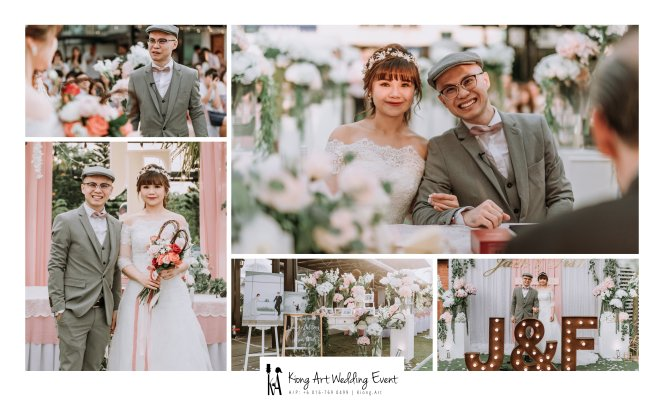 Malaysia Kuala Lumpur Wedding Decoration Kiong Art Wedding Deco Eternal Registration of Marriage Ceremony Open-air Party of Jack and Fish ROM at Kluang Container Hotel A14-A00-01