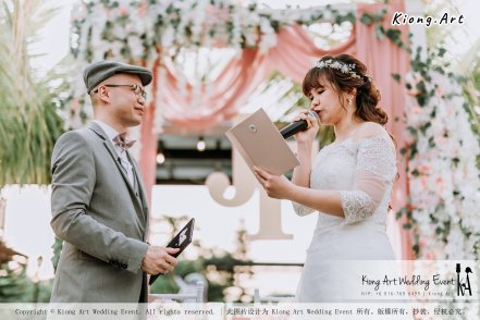 Malaysia Kuala Lumpur Wedding Decoration Kiong Art Wedding Deco Eternal Registration of Marriage Ceremony Open-air Party of Jack and Fish ROM at Kluang Container Hotel A14-A01-153