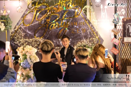 Online Star Birthday Party Ah Jie 文王爷 网红 at Our Place Cafe Puchong Malaysia Kuala Lumpur Wedding Decoration Kiong Art Wedding Deco One-stop Wedding Planning Selangor A13-A01-01