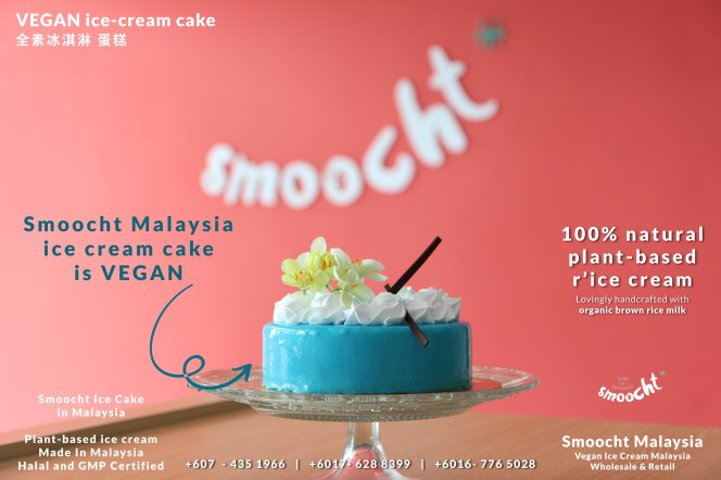 Smoocth Malaysia Vegan Ice Cream Malaysia at Batu Pahat Johor Malaysia Dessert Wholesale Ice Cream and Retail Ice Cream Plant-Based Products A02-001