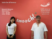 Smoocth Malaysia Vegan Ice Cream Malaysia at Batu Pahat Johor Malaysia Dessert Wholesale Ice Cream and Retail Ice Cream Plant-Based Products Taste The Different of Rice Cream B01-007