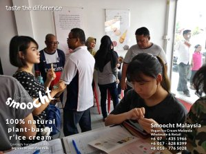 Smoocth Malaysia Vegan Ice Cream Malaysia at Batu Pahat Johor Malaysia Dessert Wholesale Ice Cream and Retail Ice Cream Plant-Based Products Taste The Different of Rice Cream B01-026