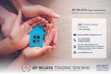 BP Wijaya Trading Sdn Bhd Pagar Malaysia Selangor Kuala Lumpur Pengeluar Pagar Keselamatan Pagar Taman Pagar Bangunan Pagar Kilang Pagar Rumah Bandar Pemborong Pagar Keselamatan A01-001