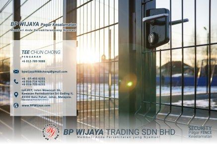 BP Wijaya Trading Sdn Bhd Pagar Malaysia Selangor Kuala Lumpur Pengeluar Pagar Keselamatan Pagar Taman Pagar Bangunan Pagar Kilang Pagar Rumah Bandar Pemborong Pagar Keselamatan A01-004
