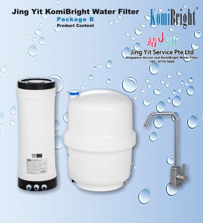Jing Yit KomiBright Water Filter Singapore Reverse Osmosis Water Purifier Singapore Water Filter Malaysia Komi Bright Water Filter Package B A01