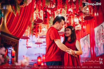 Kuala Lumpur Wedding Deco Decoration Kiong Art Wedding Deco Old Shanghai Style Wedding 旧上海风情婚礼 Steven and Tze Hui at Golden Dragonboat Restaurant 金龙船鱼翅海鲜酒家 Malaysia A16-A01-006