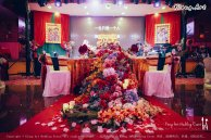 Kuala Lumpur Wedding Deco Decoration Kiong Art Wedding Deco Old Shanghai Style Wedding 旧上海风情婚礼 Steven and Tze Hui at Golden Dragonboat Restaurant 金龙船鱼翅海鲜酒家 Malaysia A16-A01-021