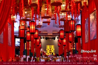 Kuala Lumpur Wedding Deco Decoration Kiong Art Wedding Deco Old Shanghai Style Wedding 旧上海风情婚礼 Steven and Tze Hui at Golden Dragonboat Restaurant 金龙船鱼翅海鲜酒家 Malaysia A16-A02-012