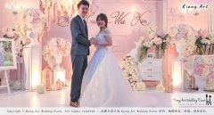 Malaysia Wed Kuala Lumpur Wedding Deco Decoration Kiong Art Wedding Deco Warm and Happy Wedding Theme Chia Hao and Wei Xin Sin Yang Restaurant Batu Pahat A15-A01-025