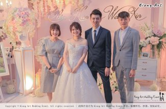 Malaysia Wed Kuala Lumpur Wedding Deco Decoration Kiong Art Wedding Deco Warm and Happy Wedding Theme Chia Hao and Wei Xin Sin Yang Restaurant Batu Pahat A15-A01-032