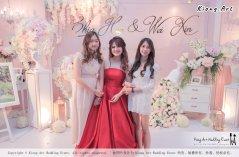 Malaysia Wed Kuala Lumpur Wedding Deco Decoration Kiong Art Wedding Deco Warm and Happy Wedding Theme Chia Hao and Wei Xin Sin Yang Restaurant Batu Pahat A15-A01-040