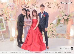 Malaysia Wed Kuala Lumpur Wedding Deco Decoration Kiong Art Wedding Deco Warm and Happy Wedding Theme Chia Hao and Wei Xin Sin Yang Restaurant Batu Pahat A15-A01-043