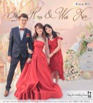 Malaysia Wed Kuala Lumpur Wedding Deco Decoration Kiong Art Wedding Deco Warm and Happy Wedding Theme Chia Hao and Wei Xin Sin Yang Restaurant Batu Pahat A15-A01-056