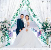 Kuala Lumpur Wedding Event Deco Wedding Planner Kiong Art Wedding Event 吉隆坡一站式婚礼策划布置 Klang Commercial Convention Centre KCCC 巴生皇城商务会展中心 E01-019