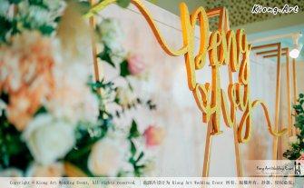 Kuala Lumpur Wedding Event Deco Wedding Planner Kiong Art Wedding Event 吉隆坡一站式婚礼策划布置 Klang Commercial Convention Centre KCCC 巴生皇城商务会展中心 A01-015