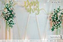 Kuala Lumpur Wedding Event Deco Wedding Planner Kiong Art Wedding Event 吉隆坡一站式婚礼策划布置 Klang Commercial Convention Centre KCCC 巴生皇城商务会展中心 B01-015