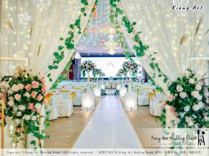 Kuala Lumpur Wedding Event Deco Wedding Planner Kiong Art Wedding Event 吉隆坡一站式婚礼策划布置 Klang Commercial Convention Centre KCCC 巴生皇城商务会展中心 C01-017